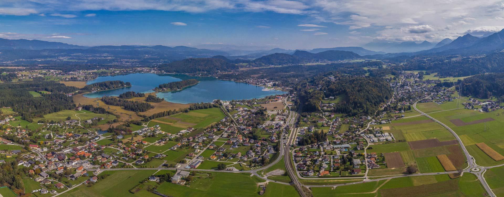 Faak Panorama bis Latschach